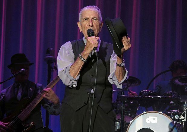 Poklon Leonardu Cohenu na razstavi