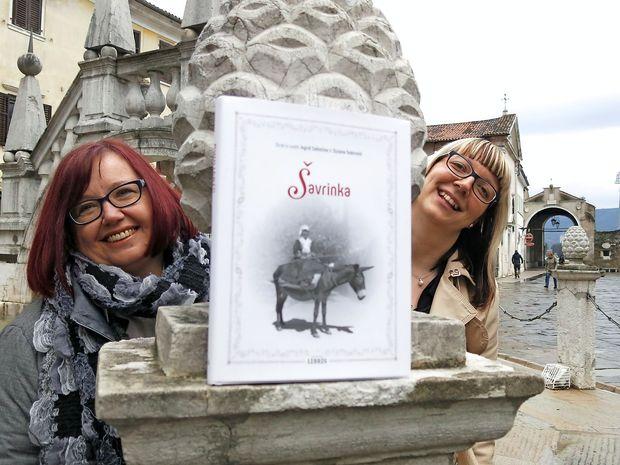 Ingrid Celestina in Suzana Todorović, januarski osebnosti Primorske, sta osvetlili Šavrinko