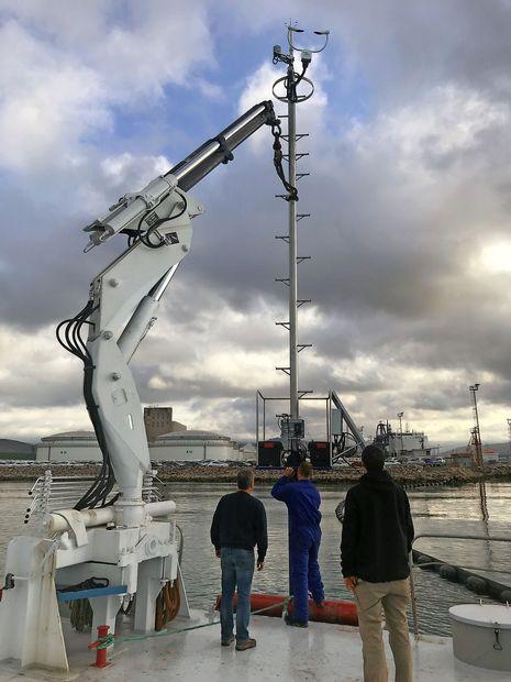 Do kje se vidi in kako močno piha v pristanišču