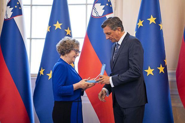 Borut Pahor odlikoval predstavnike manjšin