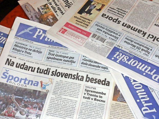 """Italijanski vladni sekretar Crimi: """"Slovenski časopis -"""