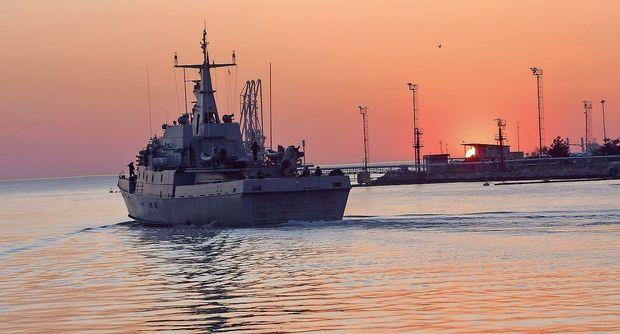 Ladja Triglav odplula na misijo v Sredozemlje