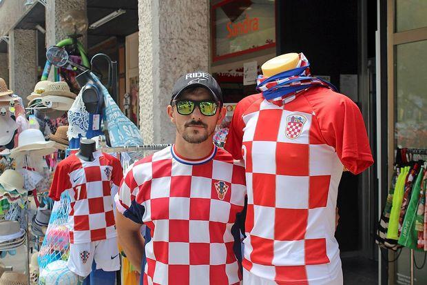 Hrvaški dresi gredo za med