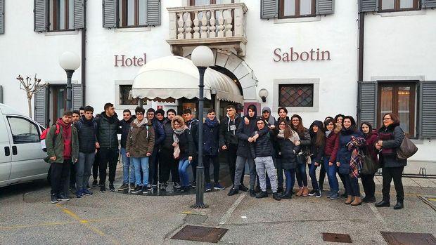 Dijaki s Sicilije po izkušnje v Slovenijo