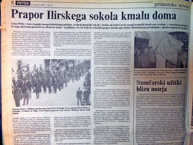 O čem so Primorske novice poročale marca 1982