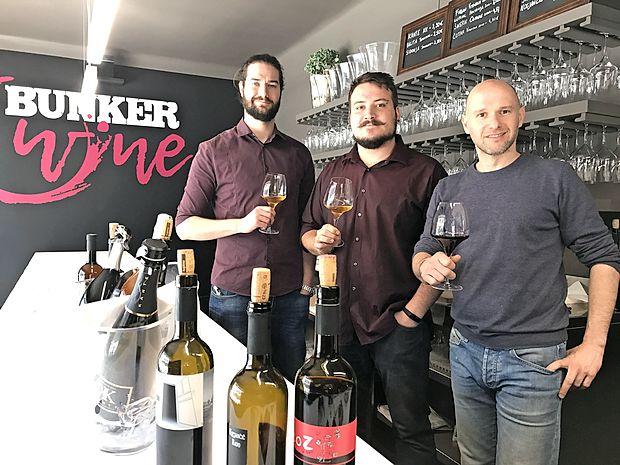 Bunker v Nabrežini vabi tudi ljubitelje vina