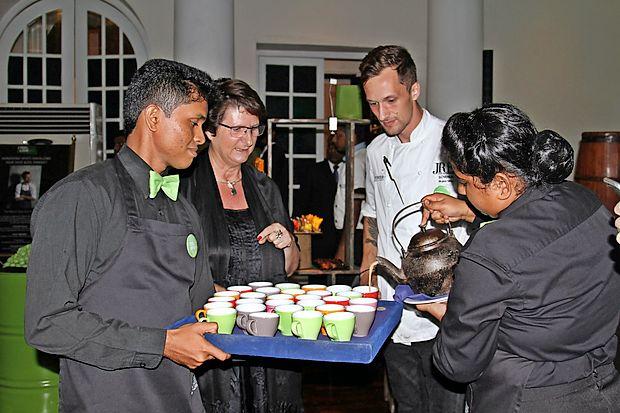Slovenske jedi na Šri Lanki