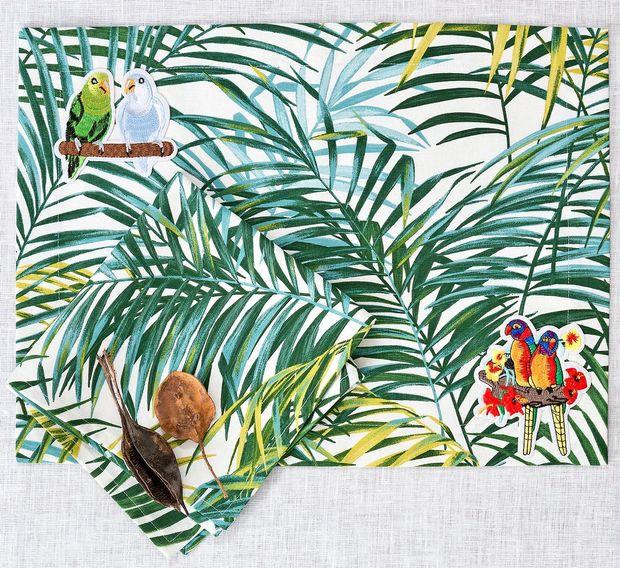 Lep dom: tri palme na otoku sreče