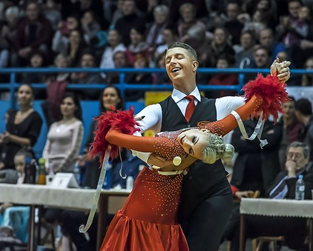 Nekdanji svetovni plesni prvak Miša Cigoj začenja drugo kariero