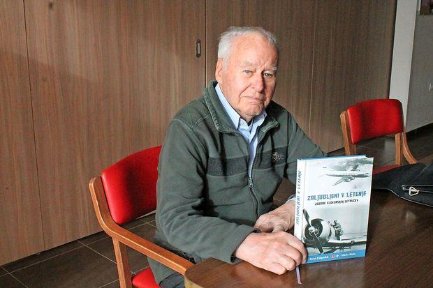 Edvard Lorencon, legenda slovenskega letalstva, je najraje letel z letalom, ki ga je izdelal sam