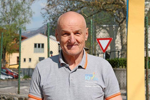 Stojan Maurič, legenda tolminske košarke