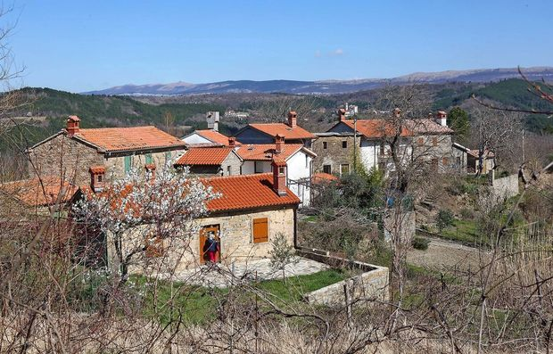 Istrske vasi, ki oživijo zgolj ob koncu tedna