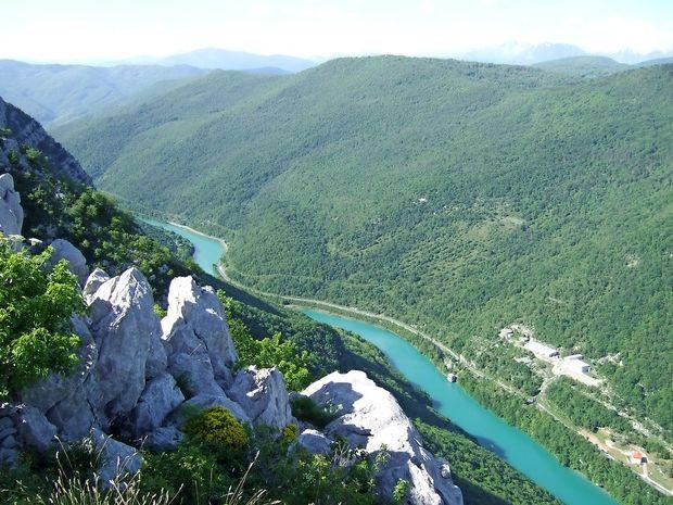 Na Primorskem gore in hribi ponujajo čudovite razglede