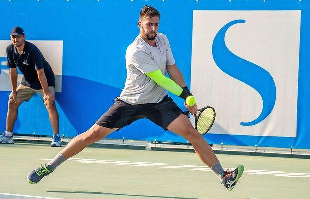 Na teniškem challengerju se je že začel osip slovenskih igralcev
