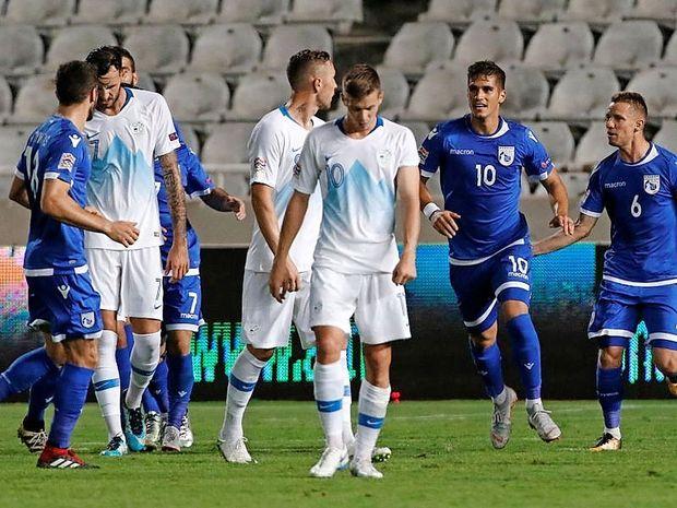 Katastrofalen začetek reprezentance v nogometni ligi narodov