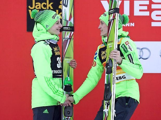 Prvi dan novega leta v Garmischu šest Slovencev