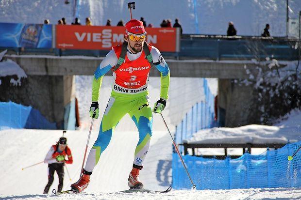 Francija na krilih Martina Fourcada do novega biatlonskega zlata