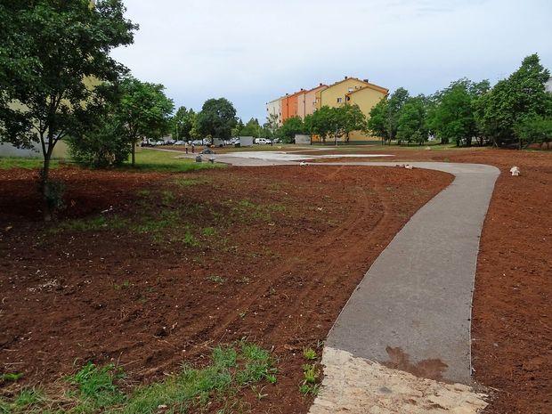 Nov park na Lenivcu
