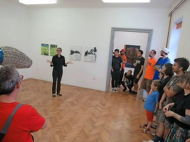 20 let razstav in vizualne umetnosti v Pivki