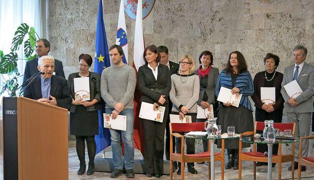 Občina Hrpelje-Kozina nagrajena za promocijo branja