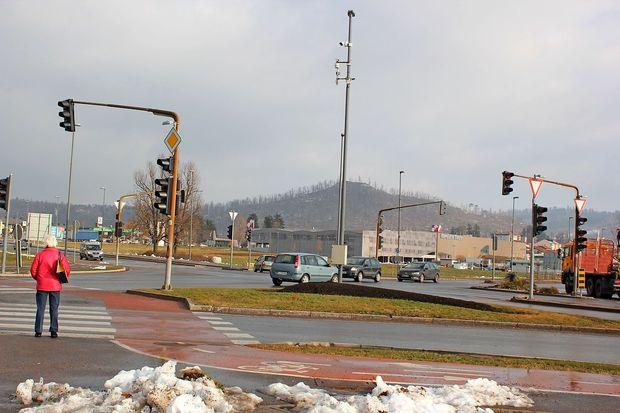 Še zadnji postojnski semafor bo nadomestilo krožišče