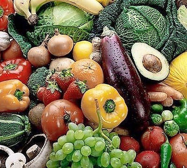Vsak dan jejte svežo zelenjavo in sadje