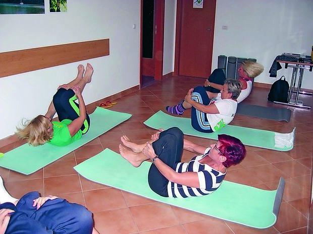 S telovadbo nad posledice sedečega dela