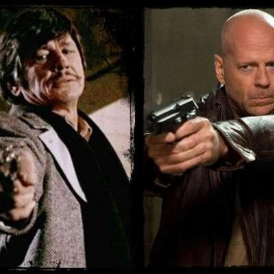 Stari (Charles Bronson) in novi (Bruce Willis) Paul Kersey