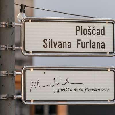 Goriška duša, filmsko srce, je slogan, ki opisuje Furlanovo  osebnost in intelektualno dediščino.  Foto: David Verlič