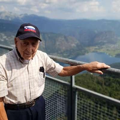 Vse je hotel videti, poskusiti, doživeti, sta bili nad vnemo strica Franka, da se naužije  Slovenije, osupli in navdušeni njegova nečakinja Allison in svakinja Agnes.   Foto: Allison Engel