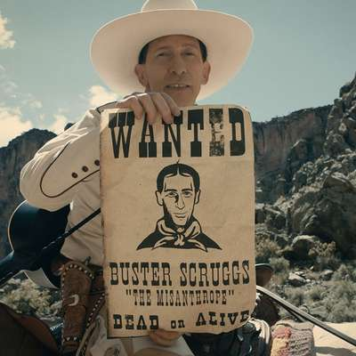 Na beneški Mostri je svetovno premiero doživel tudi najnovejši western bratov  Coen Balada Busterja Scruggsa.