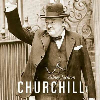 Ashley Jackson:    $@ Churchill,  prevedel  Igor Antič,  Cankarjeva  založba,  438 strani,  cena 37,99 evra