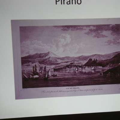 Piran, kot ga je videl Louis François Cassas leta 1782.  Foto: Denis Sabadin