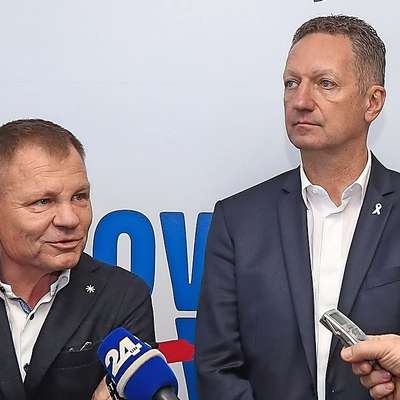 Franci Matoz in Boris Popovič Foto: Tomaž Primožič/FPA