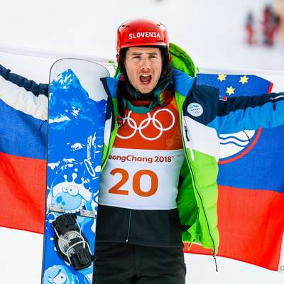Žan Košir je postal osmi slovenski športnik v zgodovini, ki mu je na  olimpijskih igrah uspelo osvojiti tri ali več kolajn. Foto: STA