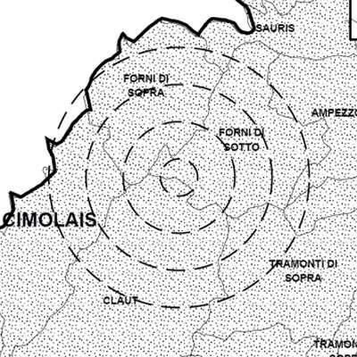 Blažji potres v bližini Vidma