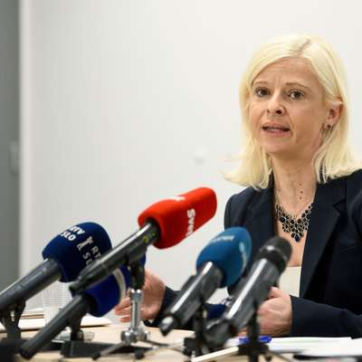 Ministrica za delo Ksenija Klampfer Foto: STA