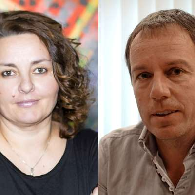 Pavla Jarc in Aleš Markočič