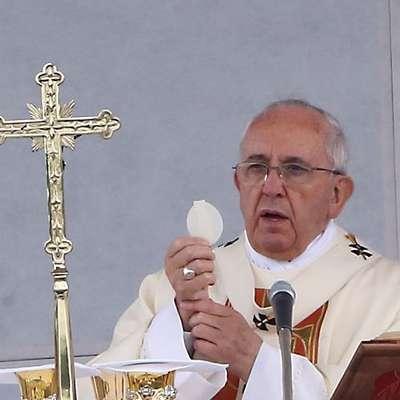"""Papež Frančišek: """"Triumfalizem se napaja z dejanji in besedami, ki  niso šli skozi izkušnjo križa."""" Foto: Zdravko Primožič/FPA"""