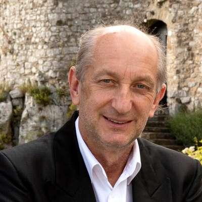 Milan Graj, gostitelj na gradu Socerb Foto: Jaka Jeraša