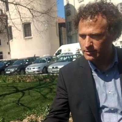 Nosilec liste Dobra država za evropske volitve Peter Golob je danes  obiskal istrske občine. Foto: Vir: FB Dobra država