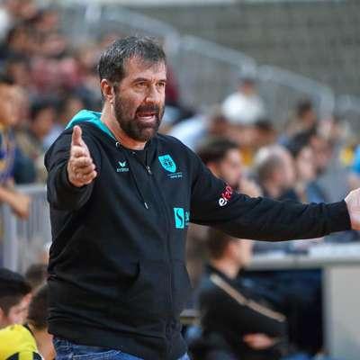 Trener Veselin Vujović zapušča Rokometno društvo Koper 2013.  Foto: Tomaž Primožič/FPA