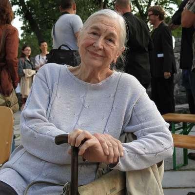 V 95. letu starosti je umrla slovenska igralka in pedagoginja Štefka  Drolc. Foto: Andraž Gombač