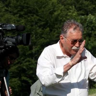 Režiser in scenarist Tugo Štiglic, režiser Poletja v školjki, je  prejemnik letošnje Badjurove nagrade, ki jo v sklopu Festivala  slovenskega filma (FSF) vsako leto že tradicionalno podeljujejo za  življenjsko delo na področju filmske ustvarjalnosti. Foto: Jožica Zafred