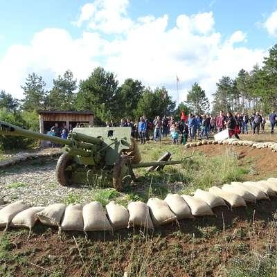 Prizor z lanskega Festivala vojaške zgodovine v Pivki.  Foto: Helena Race
