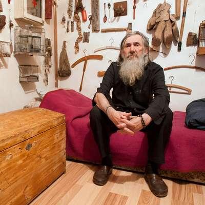 Vladimir Dodig Trokut je znan kot ustanovitelj prvega svetovnega  Anti-muzeja, ki je zastavljen kot projekt in ne kot običajen  muzejski prostor. Foto: anti-muzej.com
