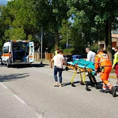 19-letno Asio Sagripanti so po nesreči, v kateri je umrl 52-letni  kolesar, v šoku prepeljali v bolnišnico. Foto: Missinato/Messaggero Veneto