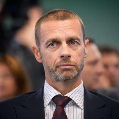 Aleksander Čeferin je edini kandidat za predsedniški stolček  Evropske nogometne zveze na naslednjih volitvah, ki bodo  februarja prihodnje leto. Foto: STA