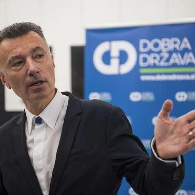 Dobovšek na čelu Dobre države: Državo bomo popeljali v prvo evropsko ligo