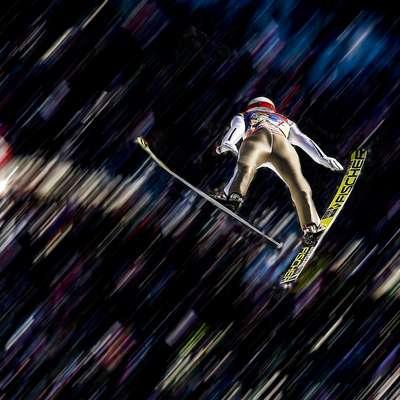 Slovenski skakalci šesti v Wisli